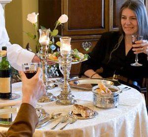 Couple's Romantic Dinner